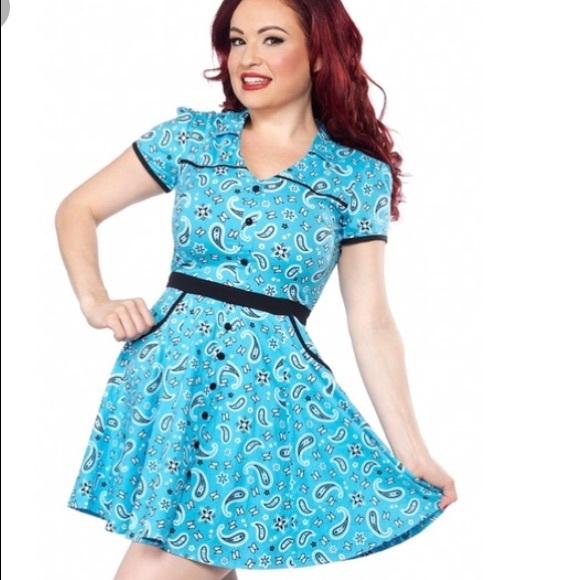 b50c54512ff Paisley Hellbilly sourpuss clothing dress